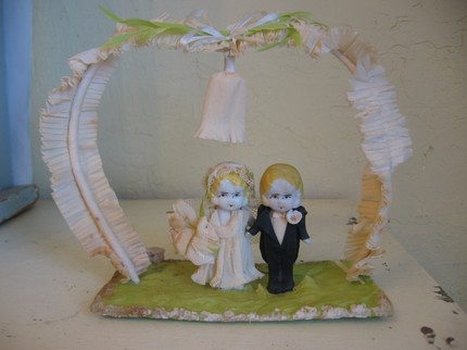 Vintage Cake Topper Sold by Meg4Mom, Etsy